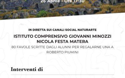 """""""La Favola dei Parchi della Basilicata"""": l'Ente Parco della Murgia presenta la sua favola con l'Istituto Comprensivo Minozzi-Festa"""