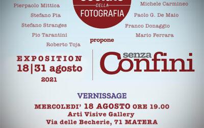 """""""Senza confini"""", fino al 31 agosto sarà possibile visitare la mostra fotografica nello Studio Arti Visive Gallery di Matera"""